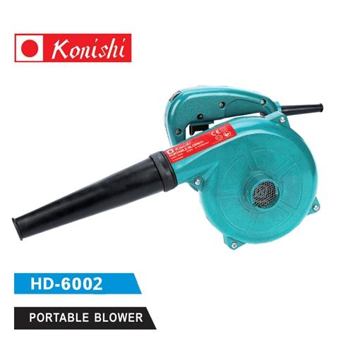 מפוח ידני חשמלי איכותי כולל שק איסוף שבבים Konishi