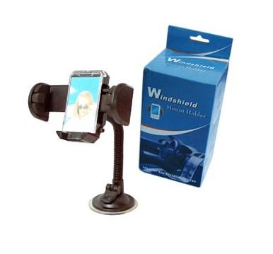 מחזיק אוניברסלי + זרוע לרכב לסלולר / נגן / GPS