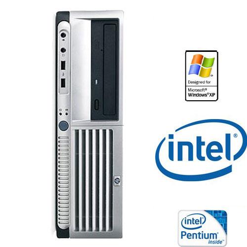 מערכת מחשב מוחדשת HP כולל מערכת הפעלה XP PRO