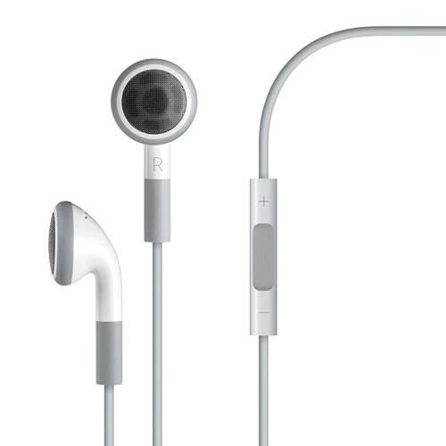 אוזניות עם שלט + דיבורית לIPHONE/IPOD