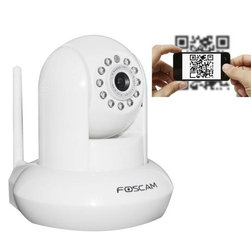 מצלמת IP אלחוטית ומתכווננת עם ראיית לילה FI9821P