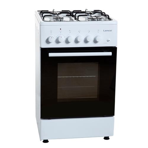 תנור אפיה משולב צר LENCO לבן דגם LFS-5050WS