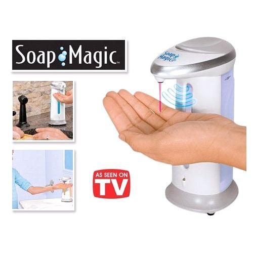דיספנסר אוטומטי לסבון SOAP MAGIC