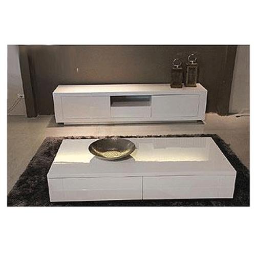 מערכת מזנון ושולחן בצביעה אפוקסית דגם אלווירה