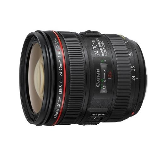 עדשת קנון Canon 24-70mm L F/4 IS USM