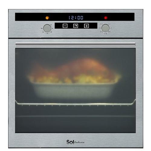 תנור אפייה בנוי SOL דגם TH670 נירוסטה