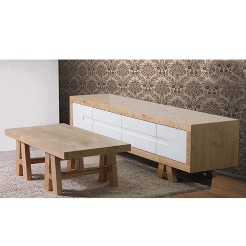 מערכת מזנון ושולחן סלונית דגם רומאנס