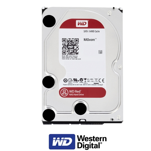 """כונן פנימי """"3.5 1TB דגם: WD10EFRX סידרה Red"""