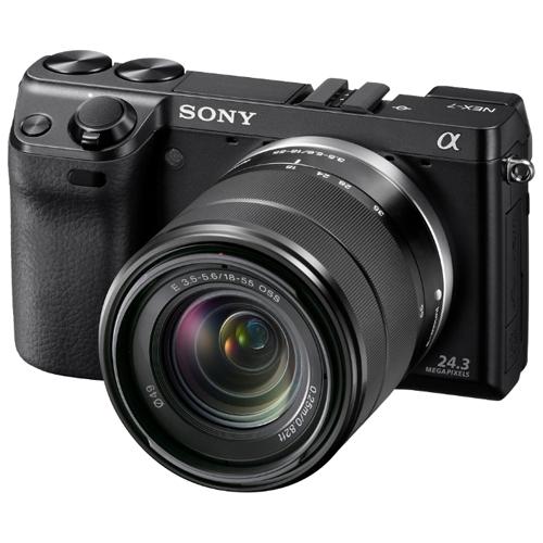 מצלמת רפלקס דיגיטלית SONY DSLR דגם NEX-7 KB