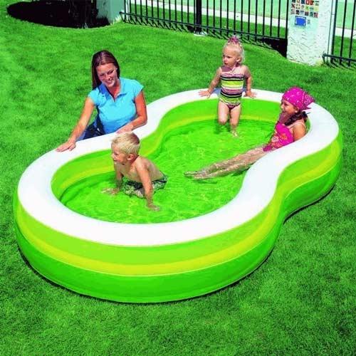 """בריכה מתנפחת לגינה 46*157*274 ס""""מ בצבע ירוק"""