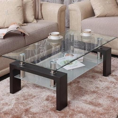 שולחן זכוכית לסלון בעיצוב מודרני דגם BRADEX #08