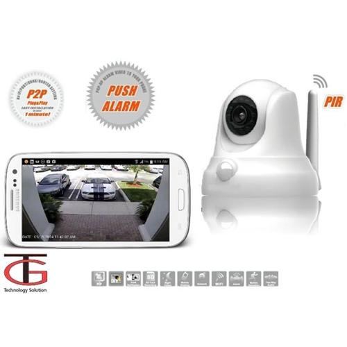 מצלמת IP אלחוטית עם התראות לסמארטפון