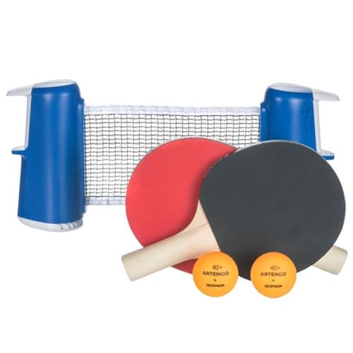 רשת טניס שהופכת כל שולחן רגיל לשולחן טניס מפואר