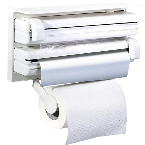 דיספנסר למטבח מתקן משולב רדיד אלומיניום נייר