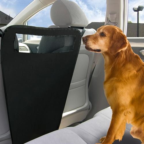 מחסום לכלב - למושב האחורי ברכב,  חוסם מעבר הכלב