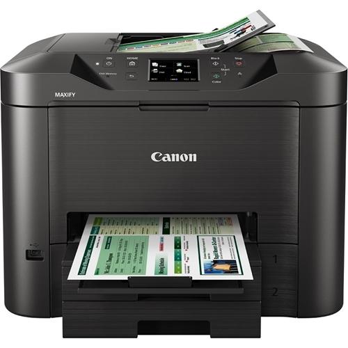 מדפסת משולבת פקס סורק ומכונת צילום MAXIFY MB5350