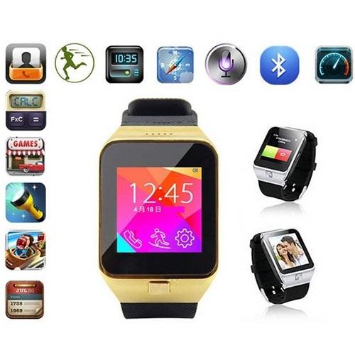 שעון יד חכם עם טלפון סלולרי GSM SIM אוזניות מתנה
