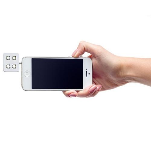 תאורת לד עוצמתית לצילום סלפי מתאים לכל סמארטפון