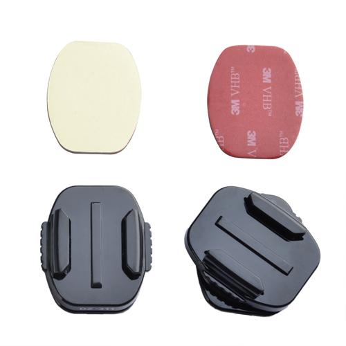 זוג מדבקות 3M לתושבת שטוחה למצלמות אקסטרים