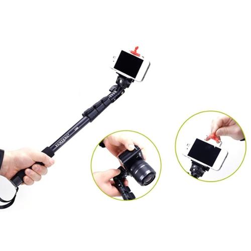 מוט סלפי טלסקופי לסמארטפונים ומצלמות אקסטרים