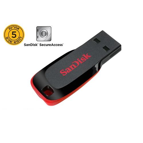 זיכרון נייד בנפח 16GB דגם SDCZ50-016G-B35