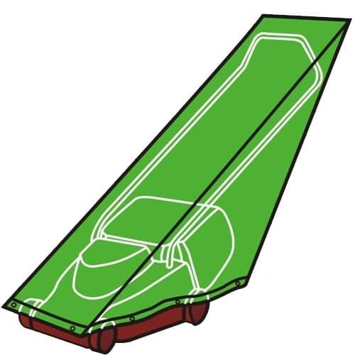 כיסוי PVC למכסחת דשא המספק הגנה מלאה מפני שמש