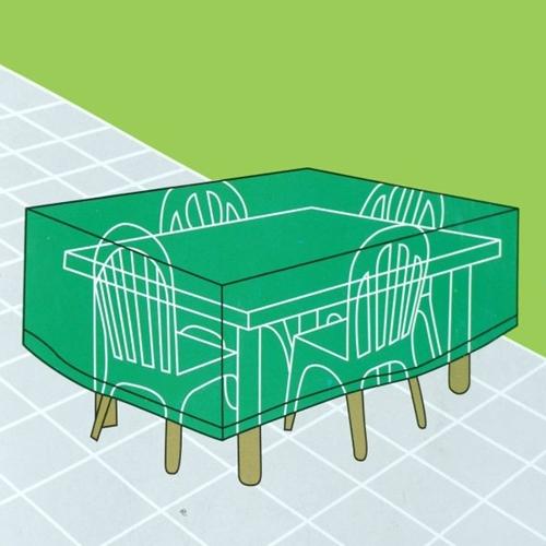 כיסוי PVC לשולחן גן מלבני/שולחן בינוני