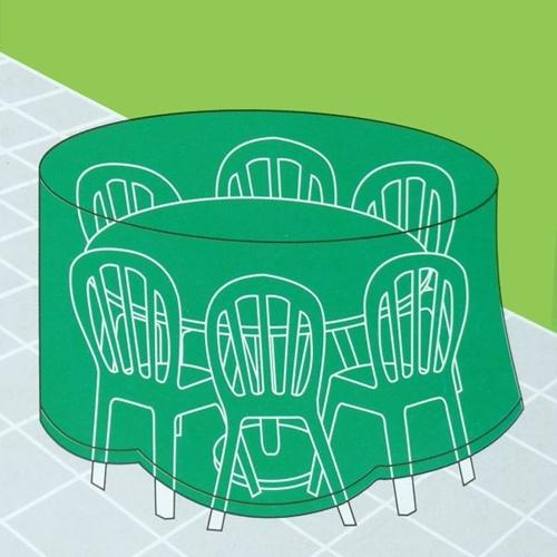 כיסוי PVC לשולחן גן עגול להארכת אורך חיי הריהוט