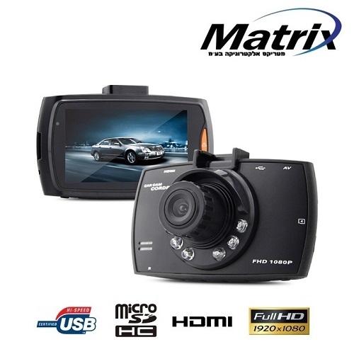 מצלמת דרך לרכב באיכות צילום HD 1080P ויציאת HDMI