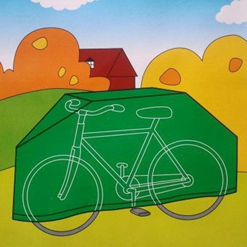 כיסוי PVC לאופניים או אופנוע לשמירה מהשמש
