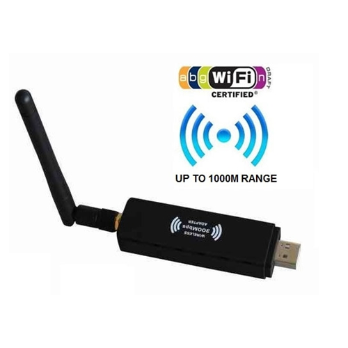 אנטנת WIFI עוצמתית קליטת רשתות ברדיוס של קילומטר