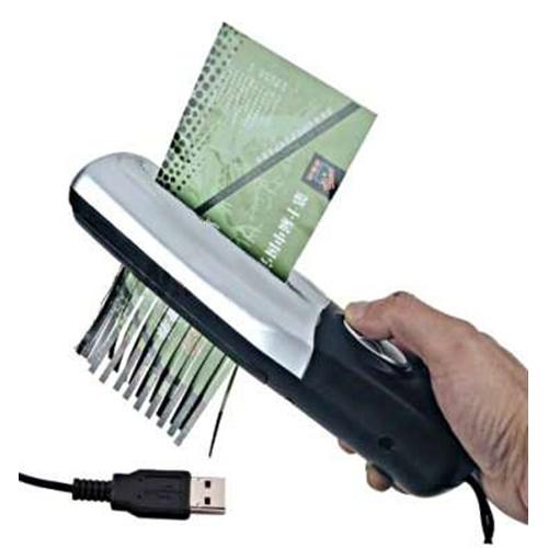 מגרסה אישית ניידת עם חיבור USB / חשמל !