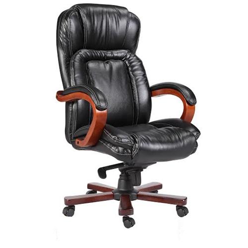כסא מנהלים גב גבוה בעיצוב מודרני לכבדי משקל