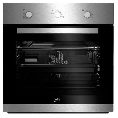 תנור בנוי 65 ליטר 6 תוכניות אפיה BEKO נירוסטה