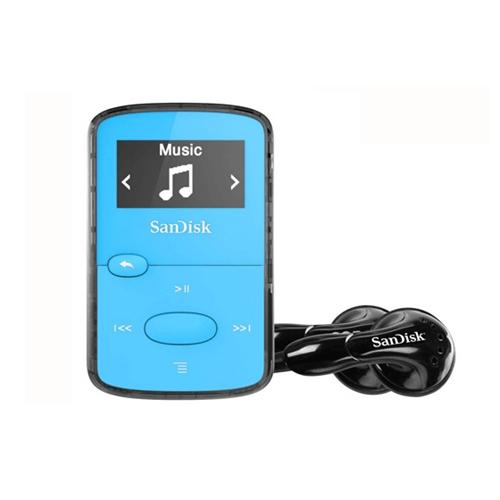 נגן MP3 SanDisk Clip Jam בנפח 8GB כחול