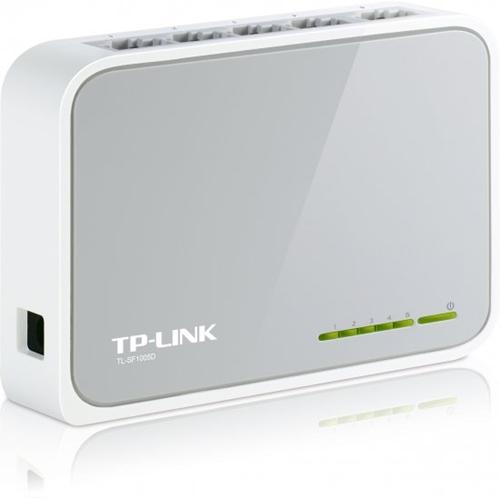 מתג מבית TP-Link בעל 5 יציאות במהירות 10/100Mbps