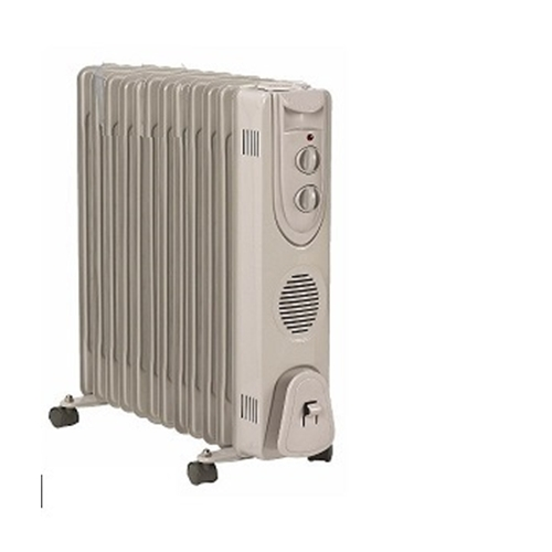 רדיאטור 12 צלעות Home Tech בהספק 2500 וואט