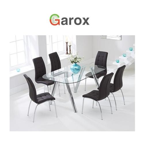 פינת אוכל מבית GAROX דגם DONNA עם 6 כסאות