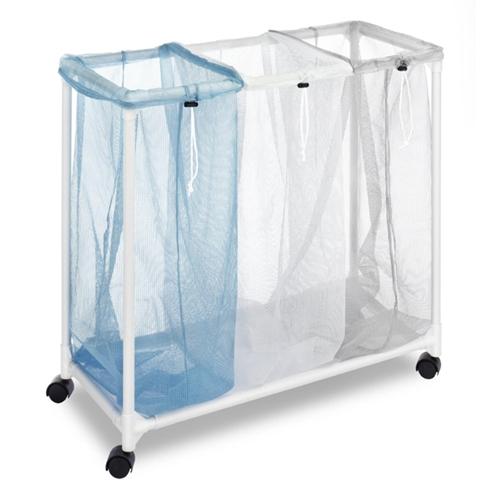 סל כביסה איכותי מחולק ל- 3 תאים
