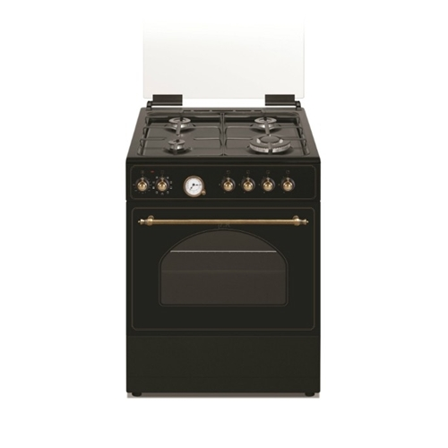תנור דגם 6403B שחור טורבו בעיצוב כפרי
