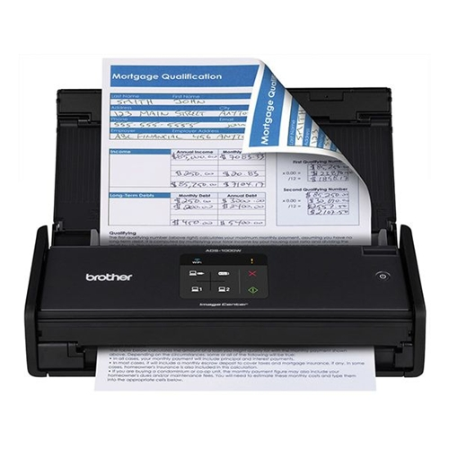 סורק אלחוטי Scanner ADS-1100W קומפקטי מהיר