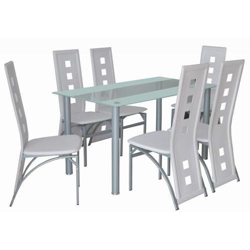 פינת אוכל בעיצוב חדשני GAROX עם 6 כסאות