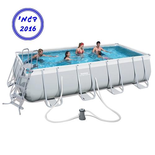 בריכת שחייה מלבנית לחצר תוצרת חברת BestWay