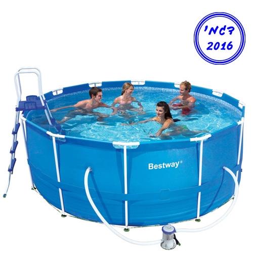 בריכת שחייה עגולה לחצר תוצרת חברת BestWay