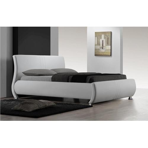 מיטת זוגית מעור אמיתי מבית GAROX דגם SERENA