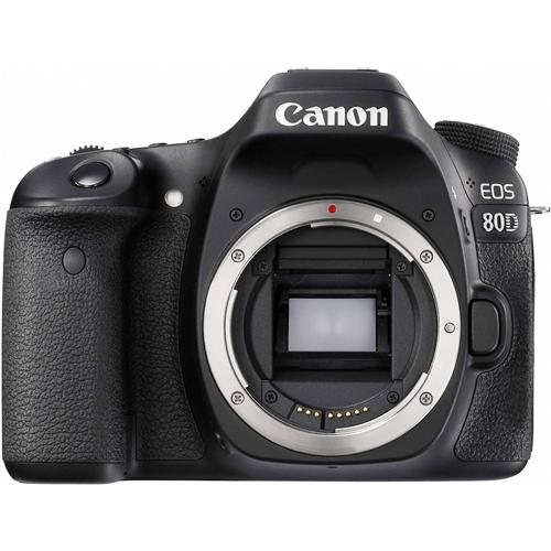 מצלמת רפלקס DSLR דגם CANON EOS 80D גוף בלבד