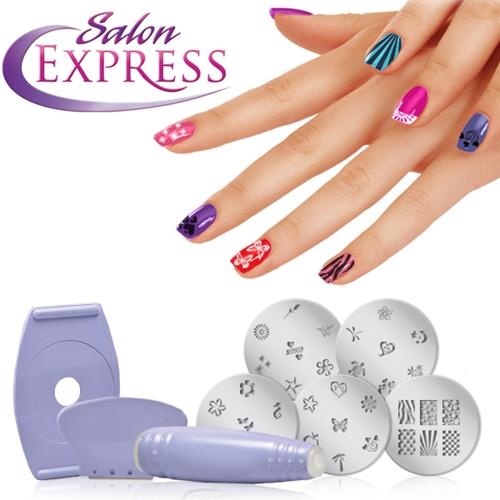 salon express ערכת עיצוב ציפורניים מושלמת