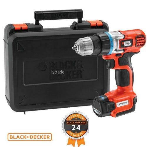 מקדחה/מברגה Black & Decker דגם  EGBL108K