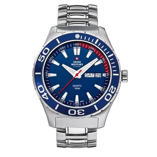 שעון יד ספורטיבי לגבר SWISS MILITARY תוצרת שוויץ