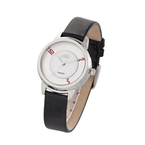 שעון יד לאישה מבית שעוני עדי עם רצועת עור אמיתי
